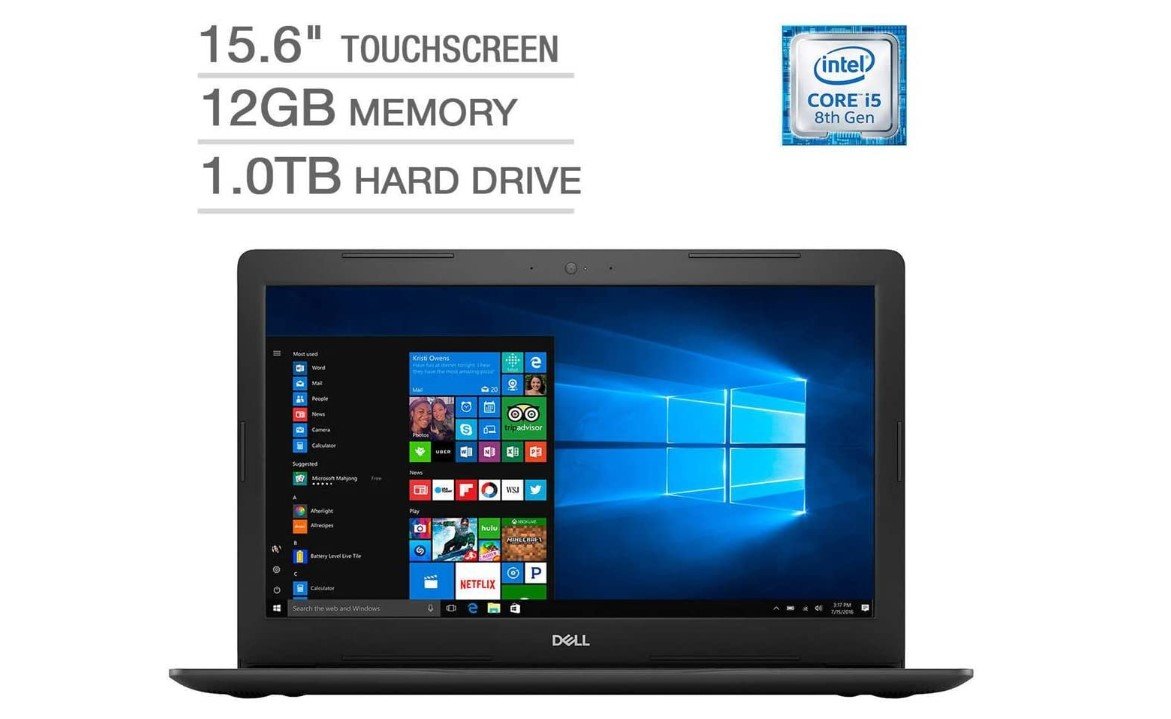 Dell Inspiron 15 5000 Flagship Premium gaming laptops under $600