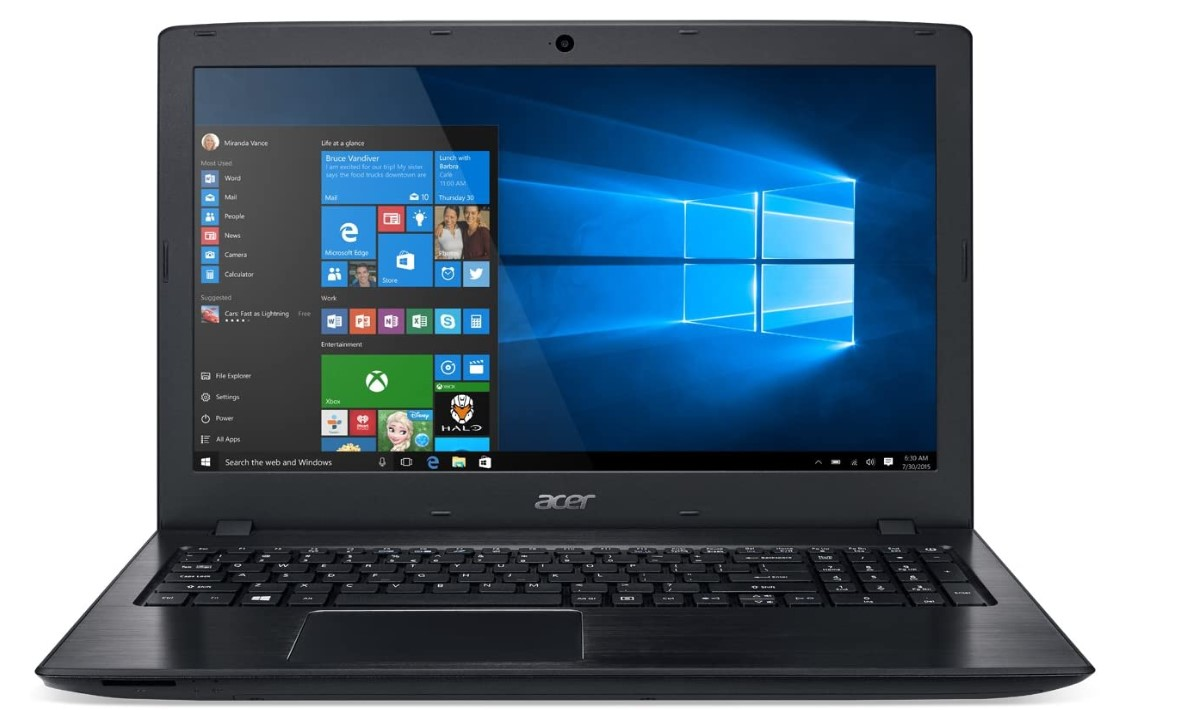 Full HD 15.6-Inch Acer Aspire Gaming Laptop