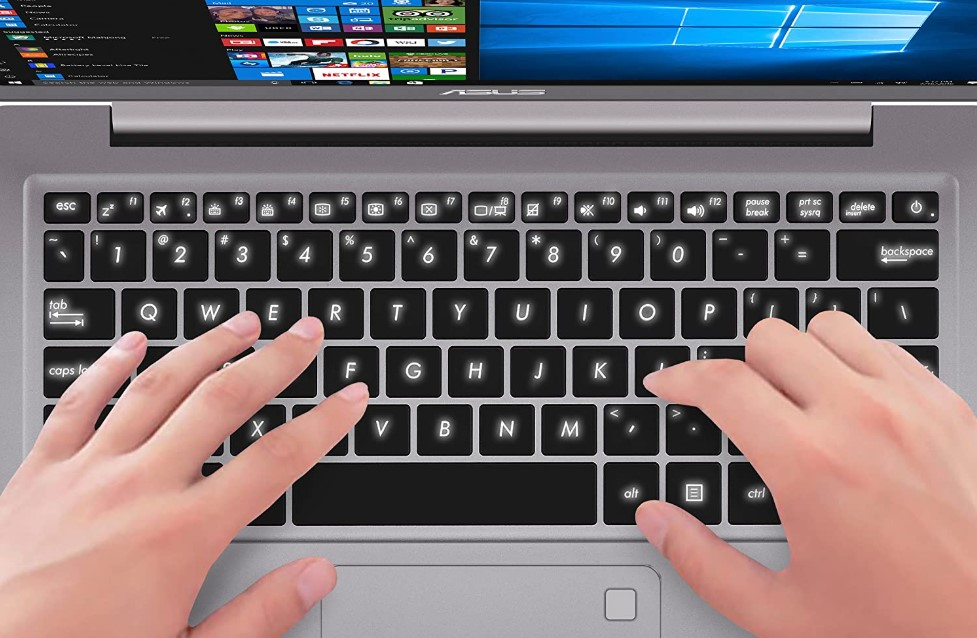comfortable Backlit keyboard laptop