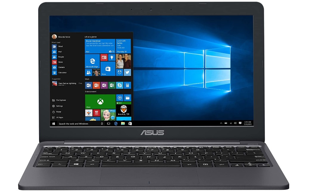 11 inch cheap laptop ASUS VivoBook