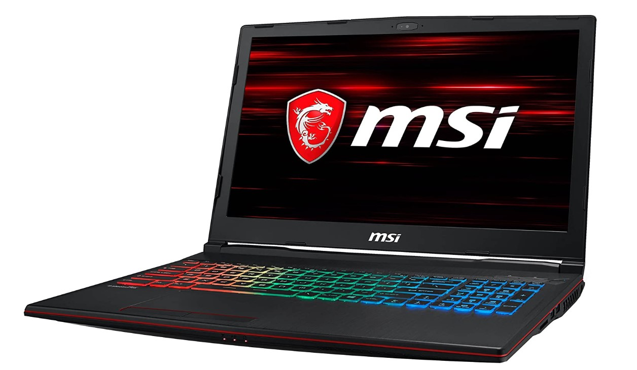 MSI GP63 best gaming laptop under 1500, cheap